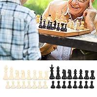 家族の子供たちの子供のための国際チェスゲーム、小型プラスチックチェス、ホーム(Without checkerboard)