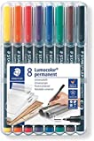 Staedler 318WP8 - Rotulador permanente, Multicolor