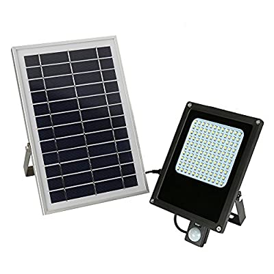 Outdoor Solar Lights, Aerlemai Solar Powered Floodlight Garden Spotlight IP65 Waterproof Night Light for Patio, Deck, Yard, Walkway
