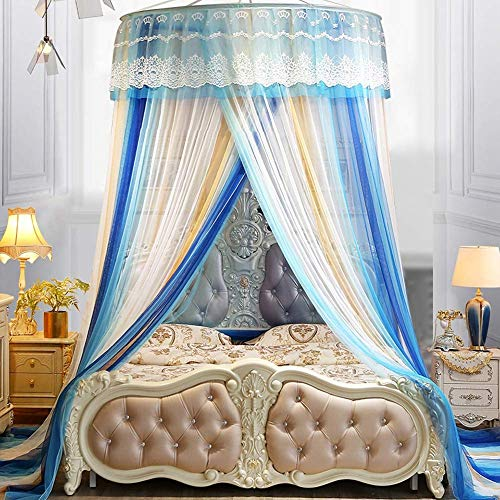 0.9-2.2m bed Universal Canopy Dome Klamboe Princess Bed Play Tent kamer decoratie for Baby Kids, A QIANGQIANG (Color : A)