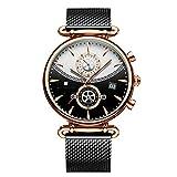 Orologio Da Uomo Cronografo, Orologio Sportivo Militare Moda Orologio Da Uomo In Acciaio Inossidabile 24cm Ne
