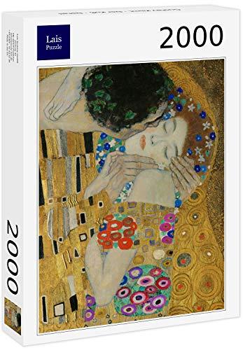 Lais Puzzle Gustav Klimt - Il Bacio - Dettaglio 2000 Pezzi