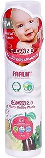 Farlin Baby Bottle Wash, White, Piece of 1