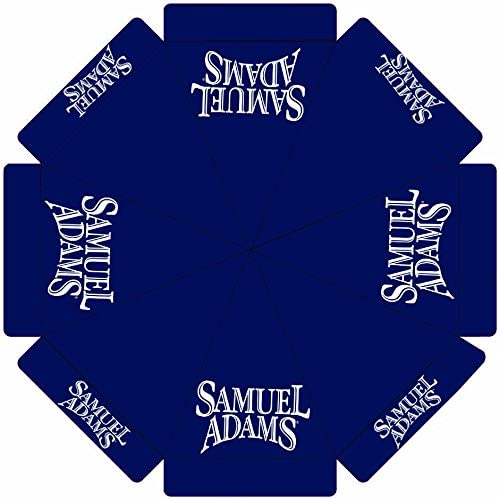 Samuel Adams Beer Long Genuine Beach Mall 9 Patio Market Umbrella ft