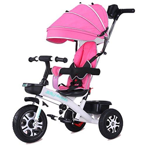&Poussette de bébé Bicyclette de tricycle d'enfants de la promenade Trike 1-3-5-2-6 ans roue en mousse (Color : 1#)