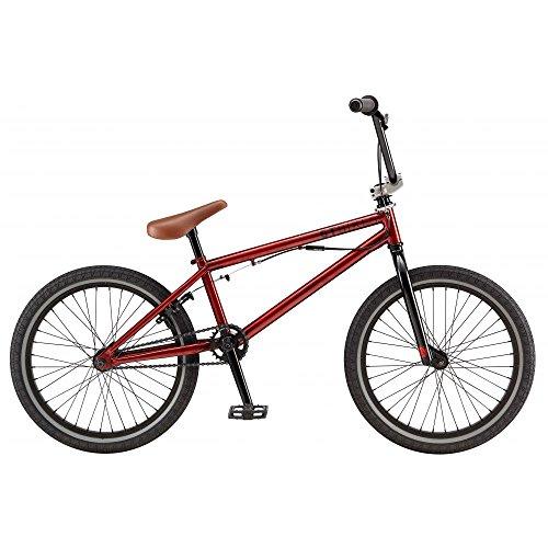 GT 744217M50SM Bicicleta, Unisex Adulto, Rojo, 20