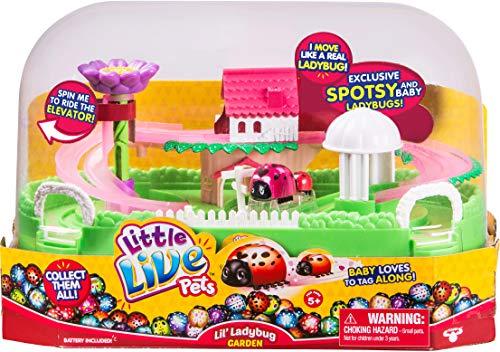Little Live Pets Lil Ladybug Garden - Spotsy & Baby