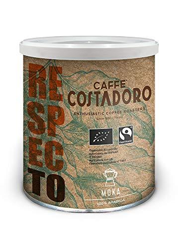 CAFFE' COSTADORO Respecto Arabica Moka Kaffee Dose, 250 g