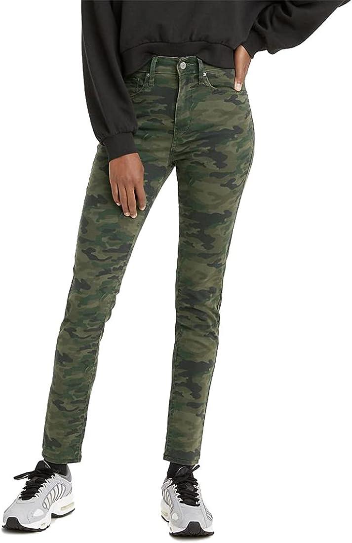 Levi's Women's 721 High 受注生産品 Rise Skinny Jeans いつでも送料無料