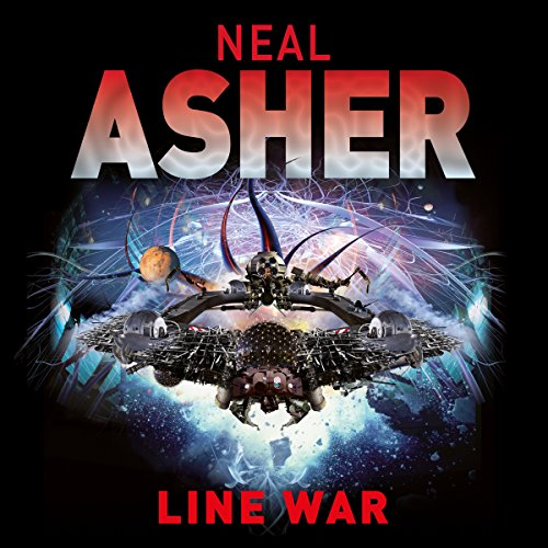 The Line War audiobook cover art