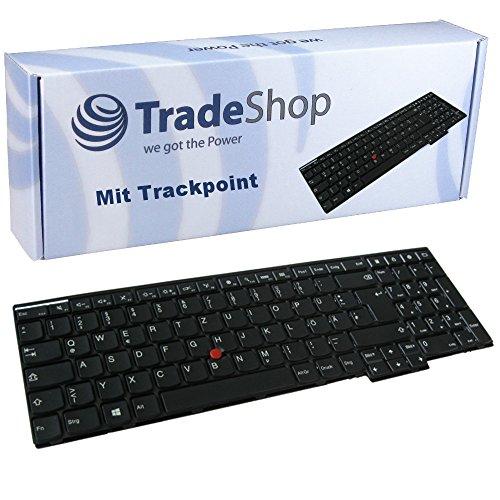 Original Laptop-Tastatur/Notebook Keyboard mit Trackpoint Deutsch QWERTZ für Lenovo Thinkpad 04Y2435 04Y2438 04Y2438-KM 04Y2452 04Y2465 04Y2475 04Y2477 04Y2477-KMBL W550s (Deutsches Tastaturlayout)