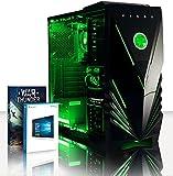 Vibox Standard 3A Unité Centrale Gaming Néon Vert (AMD Athlon 64 FX, 8 Go de RAM, 1...