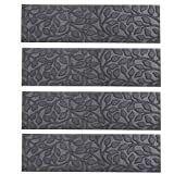 Comme Rug Stair Treads with Rubber Backing,Non-Slip,Indoor Outdoor Step...