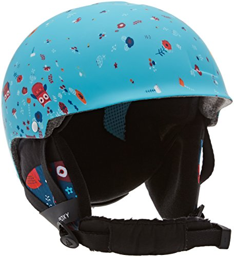 Roxy Mädchen Happyland Snowboard-Helm, Little Owl Blue Print, 54