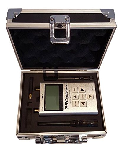 RFandEMF Analizador de Espectro portátil RF Explorer 6G con Funda de Aluminio y Software descargable