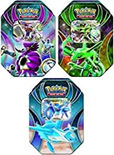 Pokemon Power Beyond Fall 2015 Rayquazza-EX, Latios-EX & Hoopa-EX Set of 3 Collector Tins