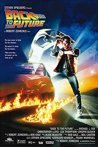 1art1 - Poster di Ritorno al Futuro, Michael J Fox, Christopher Lloyd [Lingua Inglese]