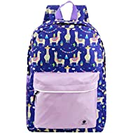 Backpacks for Little Girls, Boys, Kids by Fenrici, 16 Inch Book Bags with Water Bottle Pocket for...