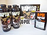 U-Pol Raptor Truck Bed Liner Paint 4 Litre Kit BLACK