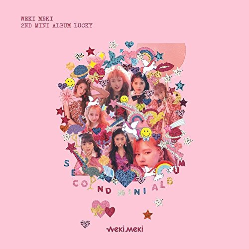 Interpark Weki Meki - Lucky (2Nd Mini Album) [Meki Ver.] Cd+Booklet+Photocard+Sticker+Free Gift