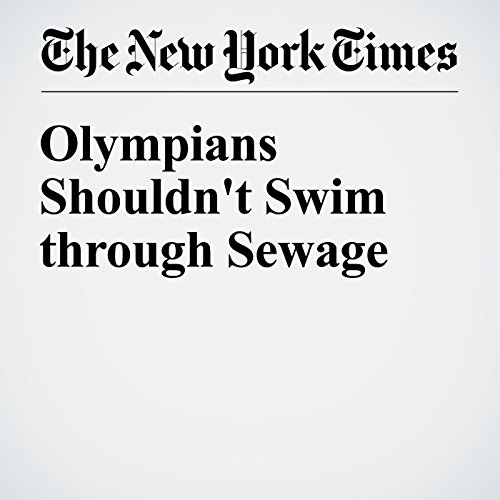 Olympians Shouldn't Swim through Sewage audiobook cover art