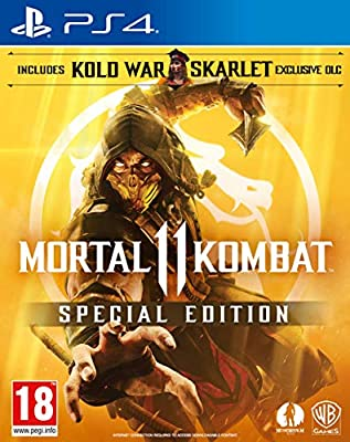 Mortal Kombat 11 Special Edition (Amazon Exclusive) (PS4)