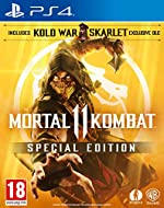 AMAZON EXCLUSIVE Mortal Kombat 11 Special Edition includes Kold War Skarlet Skin DLC Mortal Kombat is back and better than ever in the next evolution of the iconic franchise The all new Custom Character Variations give you unprecedented control to cu...