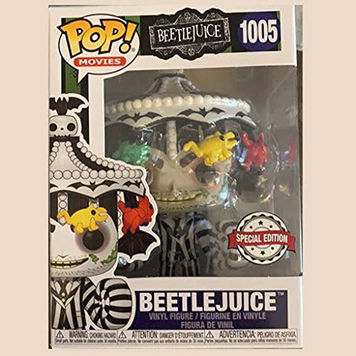 Funko Pop Movie : Beetlejuice (Speclal Edition) 3.75inch Vinyl Gift for Horror Movie Fans for Boy