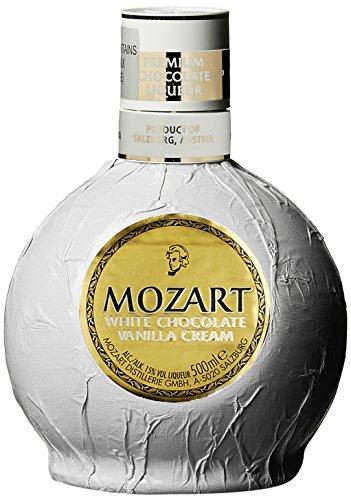 Mozart White Chocolate Vanilla Cream Schokoladenlikör (1 x 0.5 l)