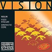VISIONバイオリン弦4/4C線VI05 シンセティックコア・ シルバー巻
