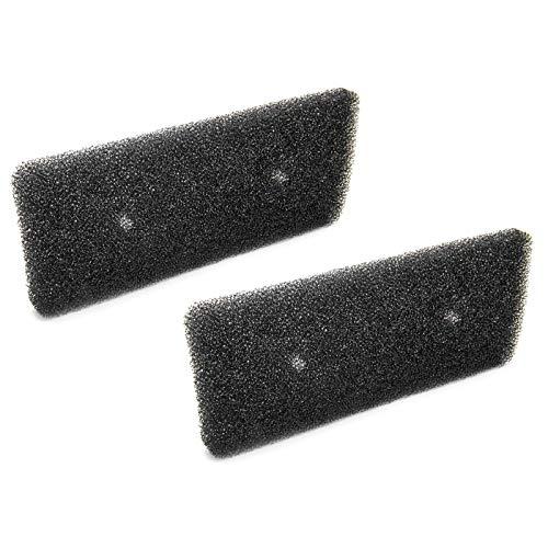 2 filtros de espuma para secadora con bomba de calor en forma...
