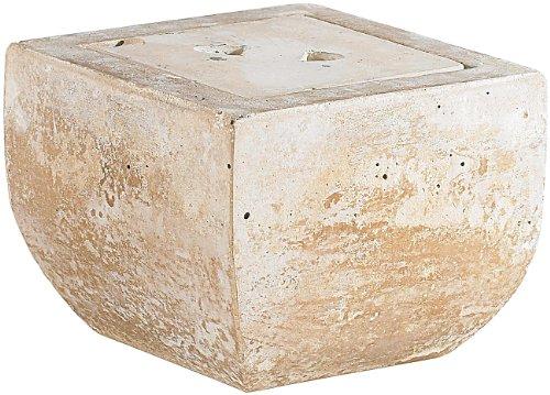 Carlo Milano Feuerschale: Terracotta-Dekofeuer Scodella für Bio-Ethanol (Terassenfeuer)