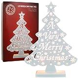 Elegante e tradizionale decorazione natalizia Ideale per la casa o l' ufficio 10luci LED Funzionamento a batteria Stupite i vostri amici e famiglia con questa grande decorazione Natalizia.
