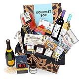 Feinkost-Präsentkorb Gourmet mit spanischen Delikatessen - Geschenkkorb für Feinschmecker &...