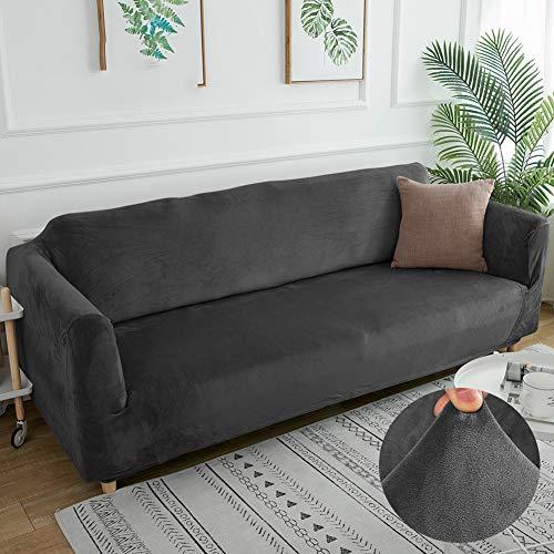 CAREXY Sofabezüge Stretch, Elastischer Antirutsch Sofaüberwurf Multifunktion Sofahusse für Wohnzimmer Küche Terrasse,F,3seater