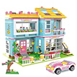 Kith Happy Family Party Creative Building Toy Set for Kids, Best Learning and Roleplay Gift for Girls and Boys with Storage Box (1009 Pieces)