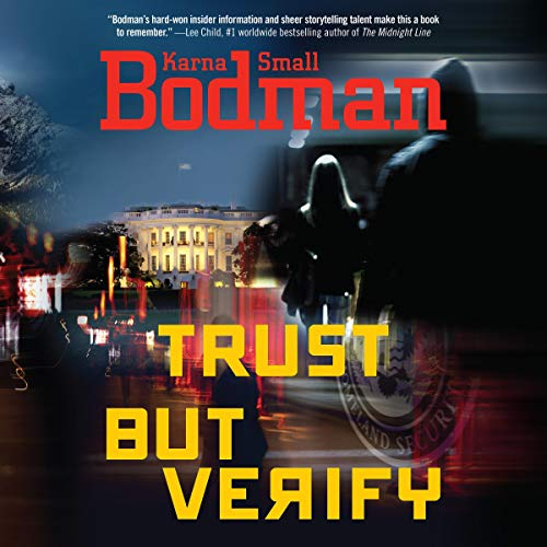 Trust But Verify audiobook cover art