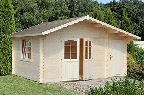 Box Houses of wood garden house wooden abete34 mm-m² 14,3-italfrom19