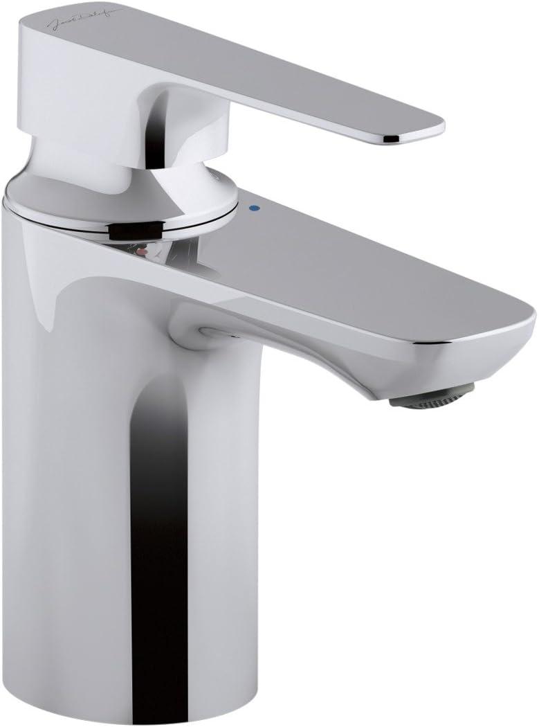 Jacob delafon E72314-CP Monomando de lavabo, Cromo