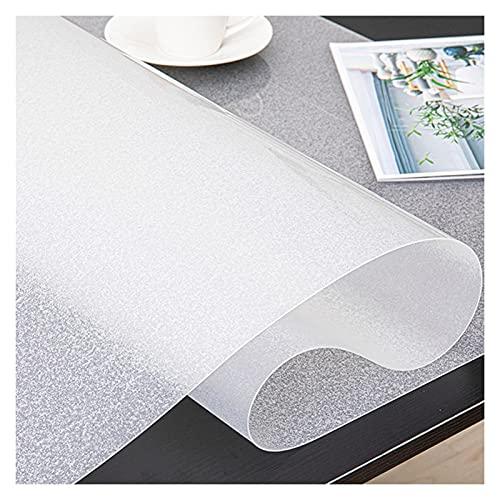ZWYSL Protector Transparente para Mesas Protector Escritorio Resistencia Altas Temperaturas Resistente Rayones Fácil Limpiar los Tamaños Pueden Personalizar (Color : Clear-1.5mm, Size : 90x90cm)
