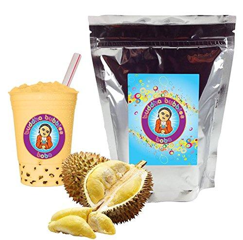NEW TASTE ! Durian Boba / Bubble Tea Drink Mix Powder By Buddha Bubbles Boba 1 Kilo (2.2 Pounds) | (1000 Grams)