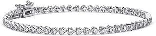 10 ct diamond tennis bracelet white gold