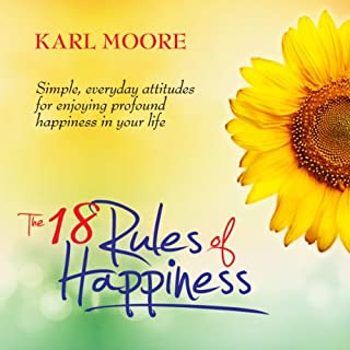 The 18 Rules of Happiness cover art