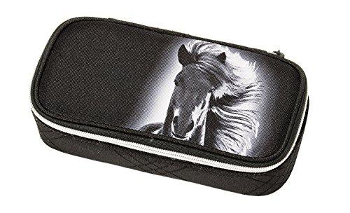 Schneiders Vienna 49011 080 Astuccio Dream Horse, circa 21 x 10 x 6 cm, Nero, poliestere