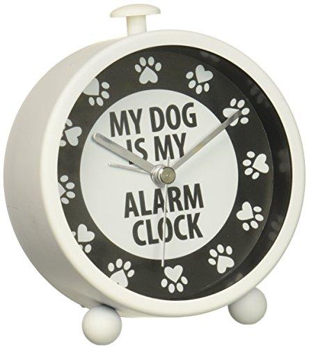 Enesco Dog Alarm Clock, Multi Color