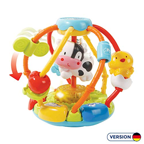 Vtech 80-502904 Baby 80-502904-Bunte Greifwelt, Mehrfarbig