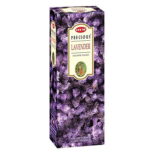 Hem Räucherstäbchen-Boxen, 6 Packungen, insgesamt 120 Stäbchen Edler Lavendel