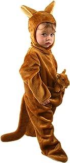Toddler Kangaroo Costume, Size Toddler 4T Brown