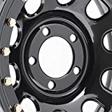 Pro Comp Steel Wheels Series 252 Wheel with Gloss Black Finish (15x10'/5x4.5')