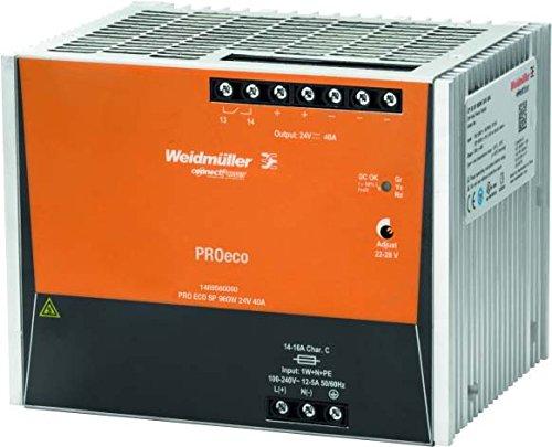 Weidmuller 1469560000 - Fuente alimentación pro eco3 960w 24v 40a